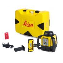 LEICA - Laser Rugby 640 avec coffret avec batterie Li-ion et cellule de réception Rod Eye 140- 6005988