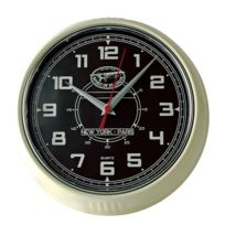 Spirit Of St Louis - Horloge murale bryson noir