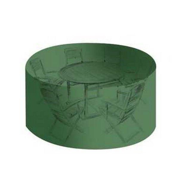 Tecplast - Housse salon de jardin Pvc ronde diamètre 184 cm ...