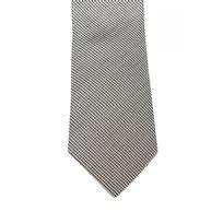 Bruce Field - Cette Cravate en diamantine argenté en pure soie - 5262
