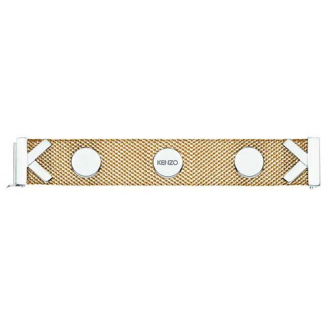 9417f442336 Kenzo Bijoux - Bracelet Kenzo Double K 70263721900000 - Bracelet Milanaise  Épaisse Femme