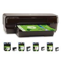 HP - Officejet 7110 + Pack de 4 cartouches