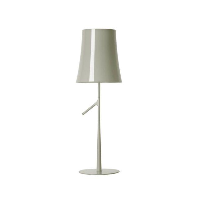 Foscarini Lampe de table Birdie - non dimmable - gris