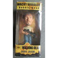 Universel - Figurine walking dead daryl dixon avec son arbalete 17cm bobble head statuette funko