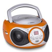 TREVI - CMP 512 lecteur CD radio AM/FM AUX orange
