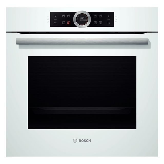 Bosch four intégrable 71l 60cm a+ pyrolyse blanc - hbg675bw1f