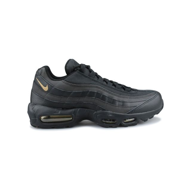 nike air max 95 premium se noir or metallique