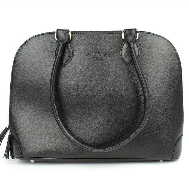 a9c4da36a4 Volumica - Sac à main New-york cuir Noir Beaubourg - pas cher Achat ...