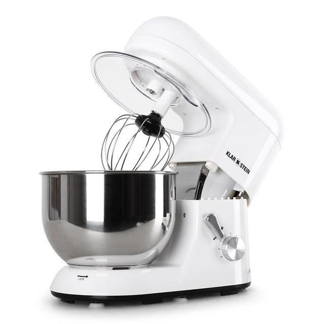 KLARSTEIN Bella Bianca Robot de Cuisine 1200W 5 Litres