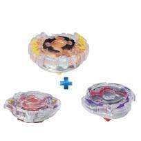 BEYBLADE - TOUPIE STD ROKTAVOR 1 + TOUPIE STD DOOMSCIZOR 1 + TOUPIE STD SPRYZEN 1