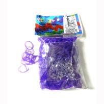 Rainbow Loom - Recharge élastiques : Violet