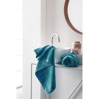 Finlandek - Bain - Finlandek Set de 2 Serviettes de toilette Kylpy 50x100 cm bleu pétrole