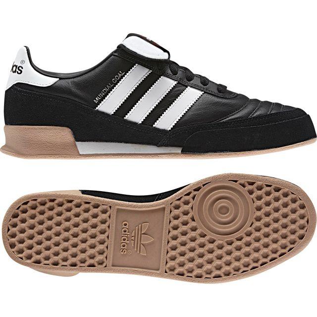 Adidas - Chaussures Mundial Goal noir/blanc/blanc
