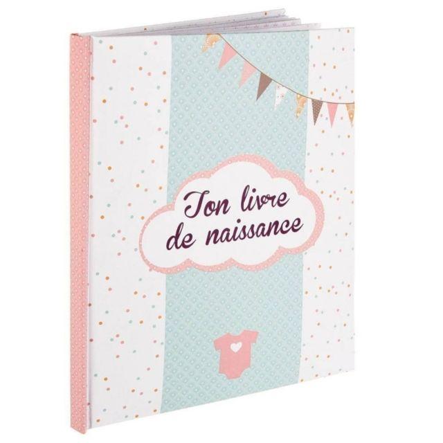 Livre de naissances - 56 pages - Rose