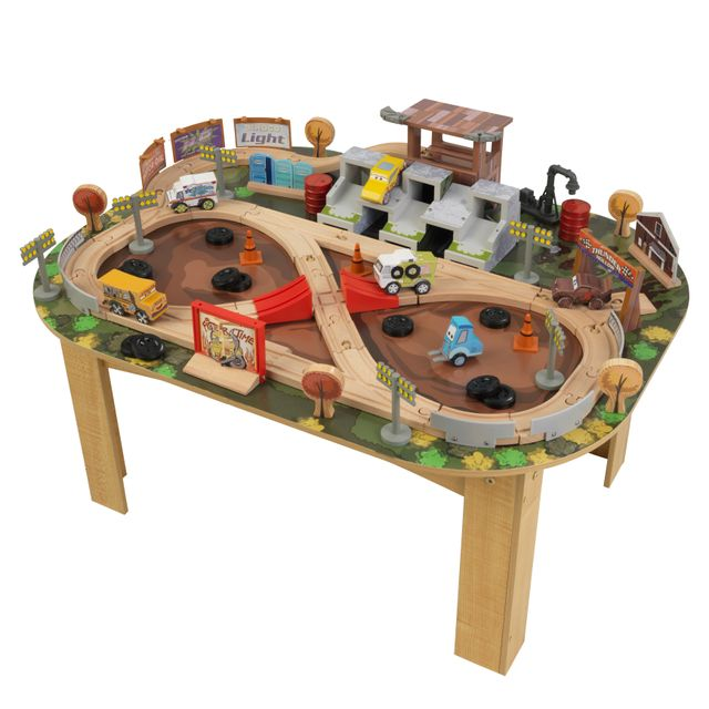 KIDKRAFT - CARS 3 - Table avec circuit Thunder Hollow - 17211