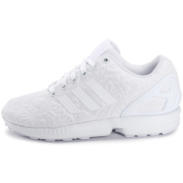 Adidas originals - Zx Flux 3d Tropical Blanche