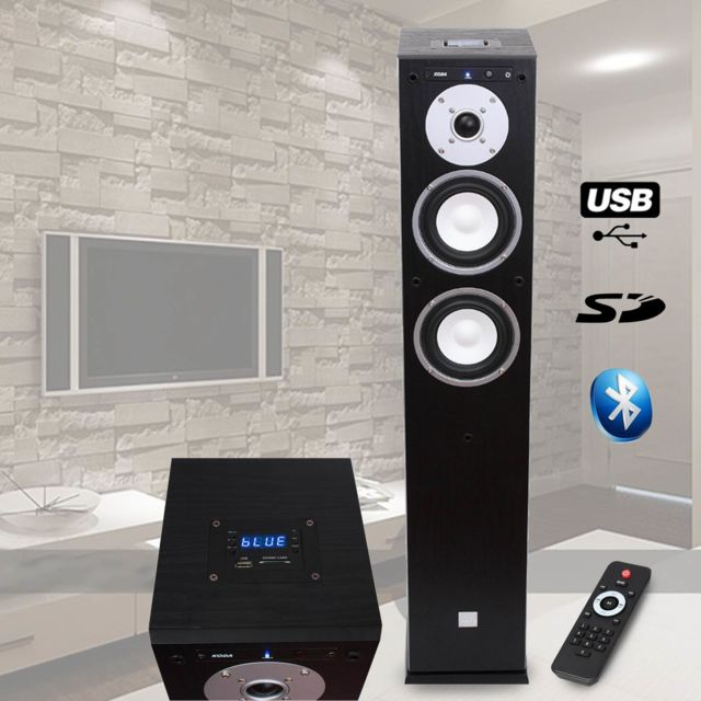 Koda Colonne Hifi Amplifiee Usb/SD/BLUETOOTH – 13cm/40W