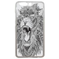Lapinette - Coque Rigide Tête De Lion Indien Pour Huawei P10