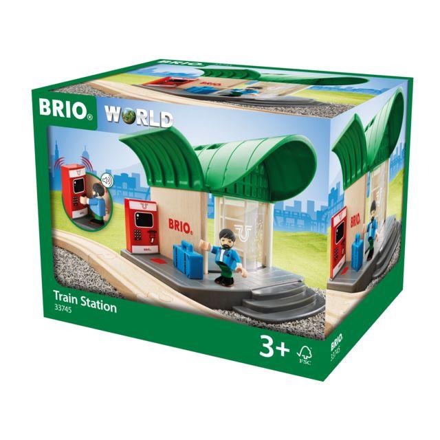 BRIO Gare sonore - 33745