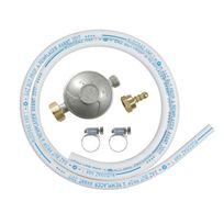 Ribitech - Kit Détendeur à gaz avec tuyau Ø 6x12 - Dg170TC75/B