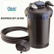 Oase - Biopress Set 10000 - Kit de filtration pour bassin d'extérieur