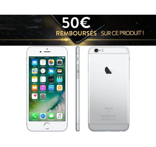 Destockage APPLE iPhone 6S Plus - 64 Go - Argent pas cher - Achat ... 3c2017b6366c
