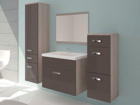 Shower Design - Ensemble de meubles de salle de bain Nassau / Laqué ...