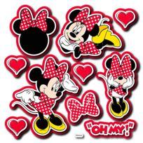 Crearreda - Stickers 3D mousse Minnie Mouse moderne