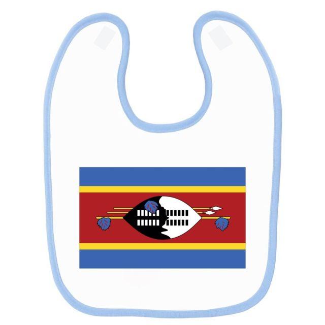 b688835fa94f Mygoodprice - Bavoir bébé imprimé drapeau swaziland Bleu - pas cher ...