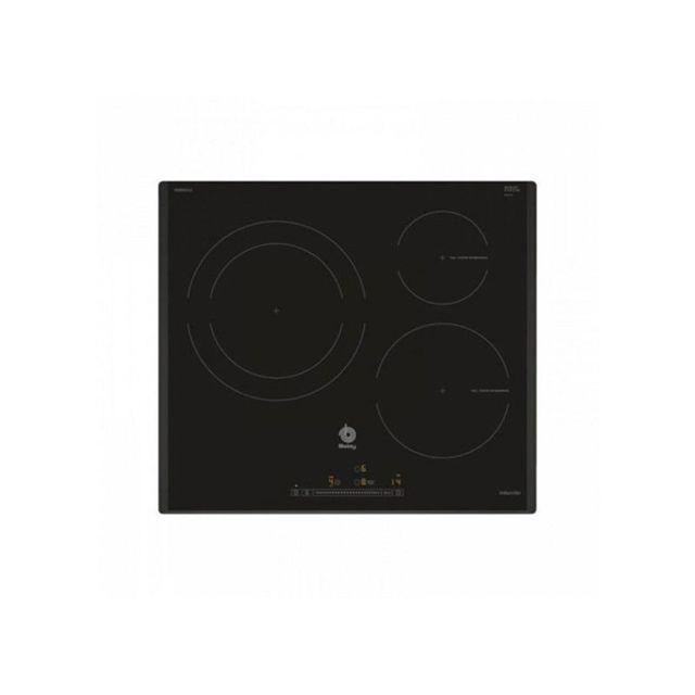 Balay Plaque à Induction 3EB965LU 60 cm Noir 3 zones de cuisson