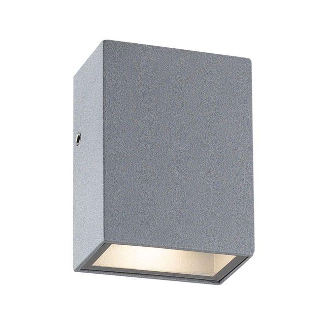 Zeeshop - Petite applique d extérieur Led rectangulaire à double faisceau  gris anthracite 6f49739e1214