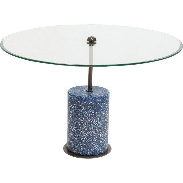 Karedesign Table basse Terrazzo Visible bleue 47cm Kare Design