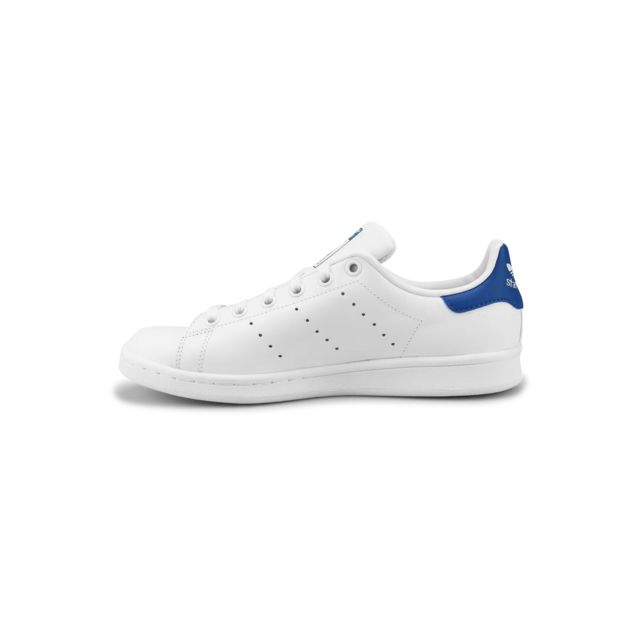 low priced b3840 217e9 Adidas originals - Stan Smith Junior Blanc S74778 - pas cher Achat   Vente Baskets  enfant - RueDuCommerce