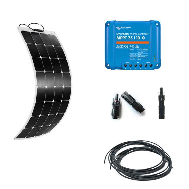 myshop solaire kit solaire 110w flexible camping car. Black Bedroom Furniture Sets. Home Design Ideas
