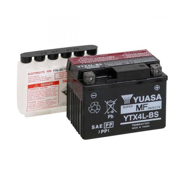 Yamaha 125/ybr-xtr XTX//Suzuki 125/intruder-gz marauder-van van-350/Dr s-batterie tecnium btx7l-bs-329804