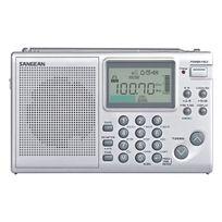 Sangean - Radio sans frontière - radio réveil de voyage multi bandes numérique - écran Lcd