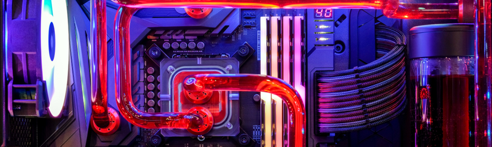 Carte mere water cooling