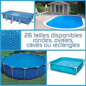 Linxor b che bulles ronde ovale carr e ou rectangle for Piscine carree intex