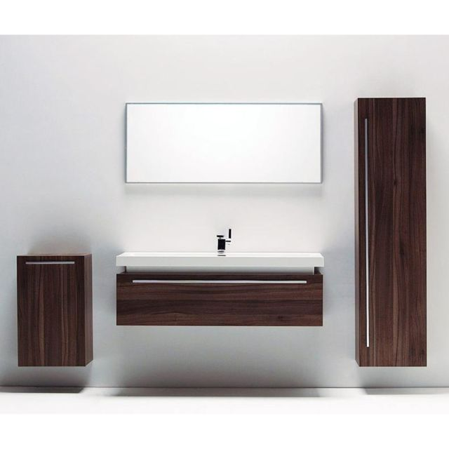 import diffusion ensemble complet meuble de salle de bain rio 1 vasque 1 miroir pas cher. Black Bedroom Furniture Sets. Home Design Ideas