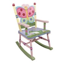 Primary Products Ltd - Fauteuil À Bascule Magic Garden Multicolore