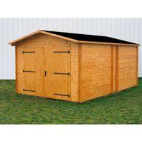 Habrita - Garage en bois 17,19 m2 Dorna 3554