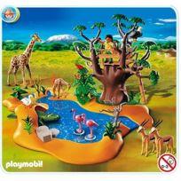 Playmobil - 4827 - Poste d'observation et animaux de la savane