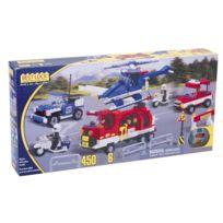 Best-lock - Coffret Pompiers Et Police 450 Pieces