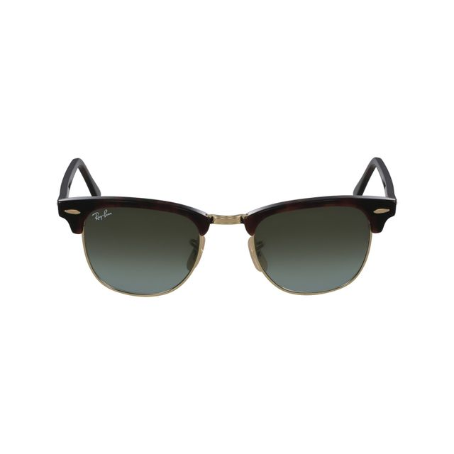 71ddd357de0cd6 Ray-Ban - Ray Ban - Clubmaster Rb3016 990 9J Havane - Or - Lunettes ...