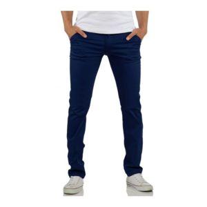 rerock pantalon chino homme marine bleu pas cher achat. Black Bedroom Furniture Sets. Home Design Ideas