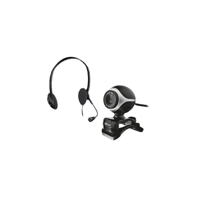 Trust - Exis Chatpack - Webcam - couleur - audio - Usb