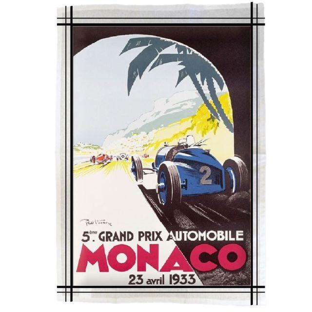 Editions Cle Torchon de cuisine en coton Monaco