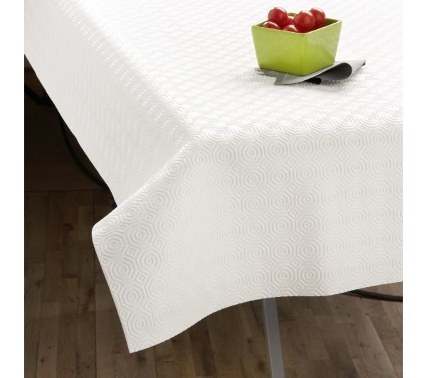 Tex home prot ge table rectangulaire pas cher achat vente nappes rueducommerce - Protege table rectangulaire ...