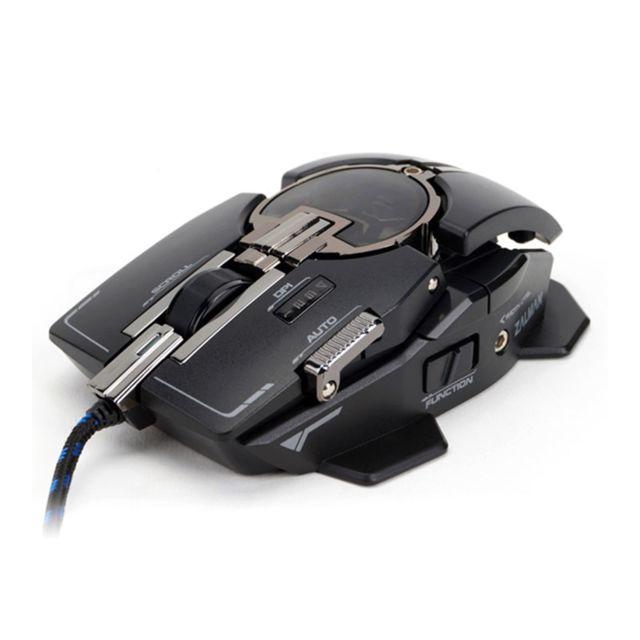 ZALMAN Souris Gaming Filaire Souris laser au design ergonomique ajustable. Personnalisez les dpi, la vitesse de scroll, la sensibilité des axes X et Y.