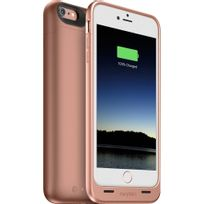 Mophie - juice pack coque batterie 2600 mah iphone 6/6s plus rose gold